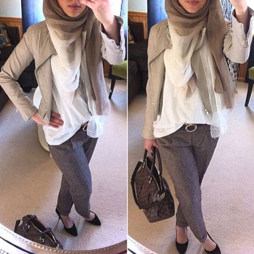 neutral hijab smart style, How to get hijab trendy looks http://www.justtrendygirls.com/how-to-get-hijab-trendy-looks/