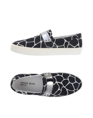 nieuw! Armani jeans 11170335IU low-tops sneakers (zwart)