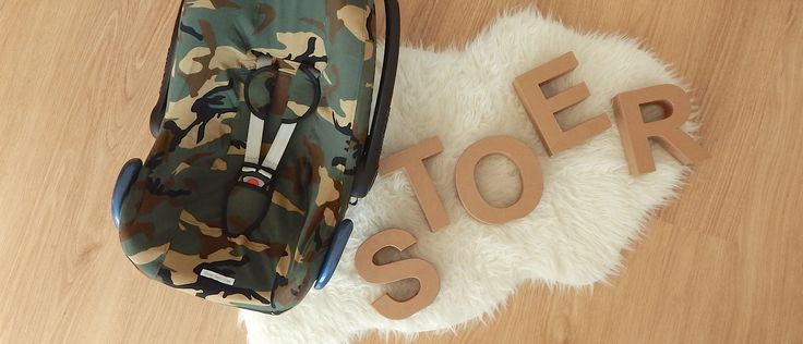 Maxi Cosi Hoes Camouflage Legerprint Car Seat Cover