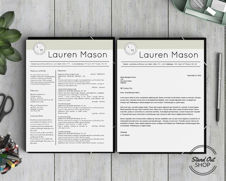 Stand Out Resume Templates  Resume Template And Professional Resume