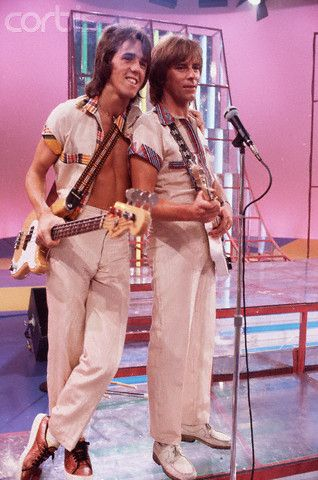 Woody and Alan from the Bay City Rollers