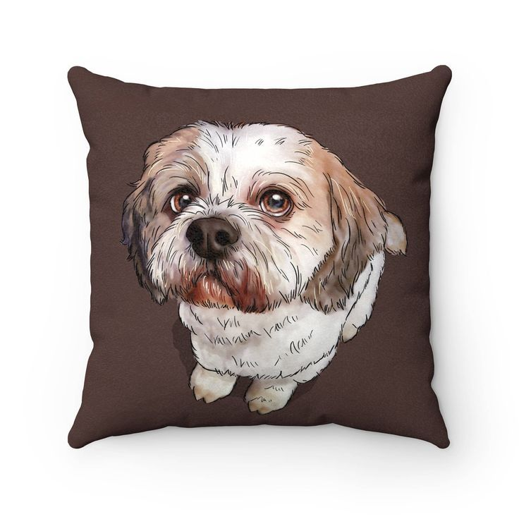 personalized puppy pillow online
