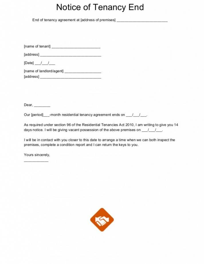 Notice Of Non Renewal Of Lease Florida