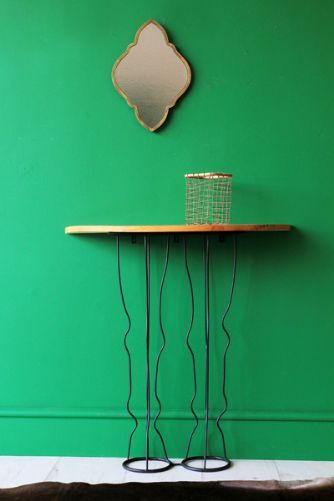 Horse Legs Hall Console Table - a very quirky idea for the hall outside the kitchen