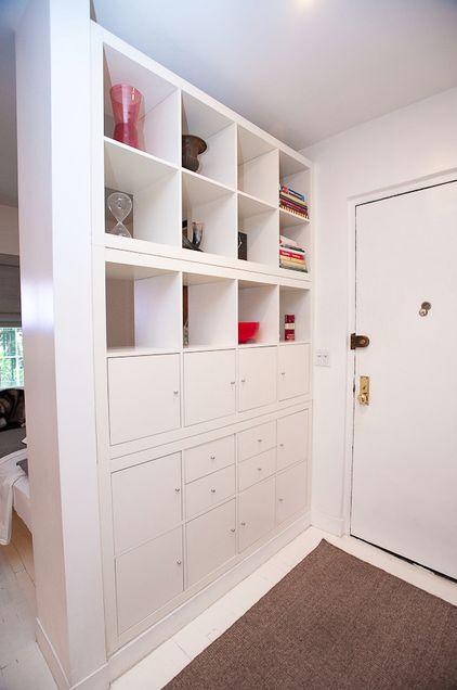 Idea para separar ambiente en un apartamento                                                                                                                                                                                 Más