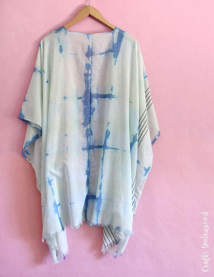 DIY Shibori Kimono: Step by Step - Consumer Crafts