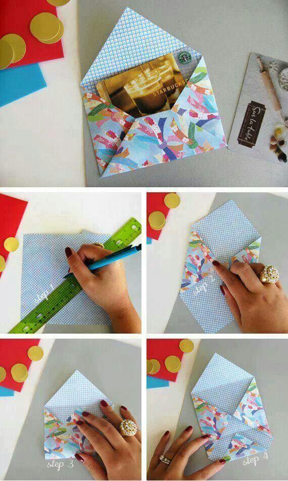 Briefumschlag DIY                                                       …