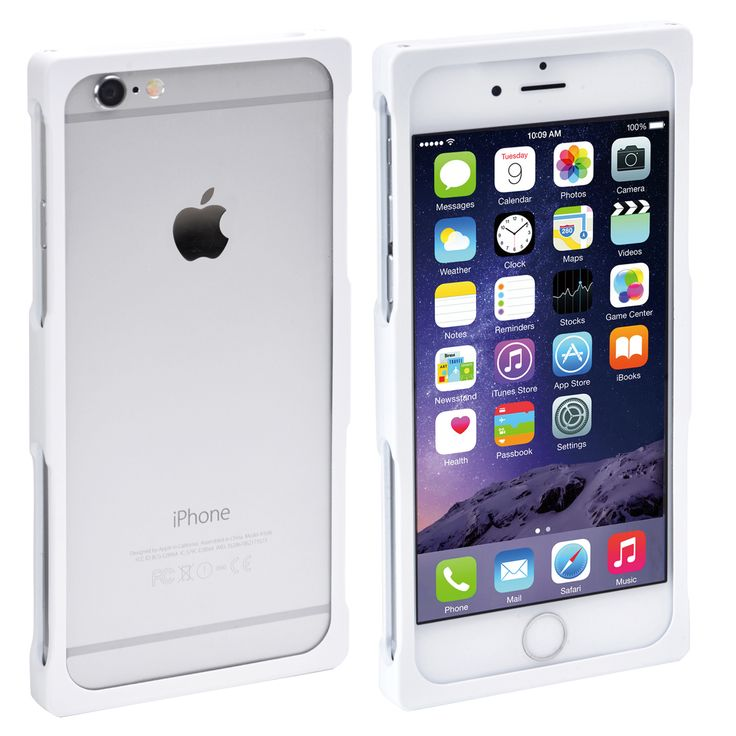 Recta Bumper Case composed of aluminum for iPhone 6