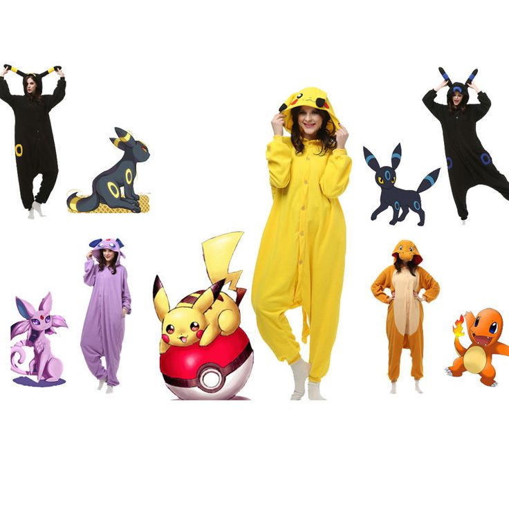 hot pokemon unisex adult pajamas kigurumi cosplay halloween costume animal onesieu2026 ebay