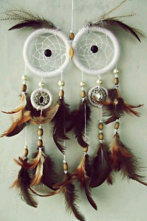 Owl dream catcher @Kirsten Wehrenberg-Klee Willingham