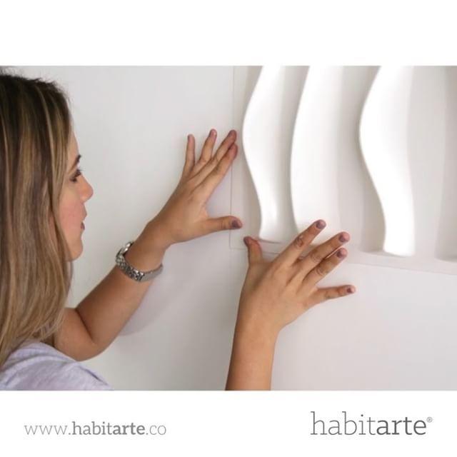 Ingresa al link en nuestra biografía para comprar 💎 Nuestros paneles decorativos NO son de fibra de bambú, son paneles plásticos, no se dilatan, son mucho mas resistentes, no se deforman con el calor, son resistentes a las humedades, pueden ser usados en exteriores y zonas húmedas sin ningún problema 💎