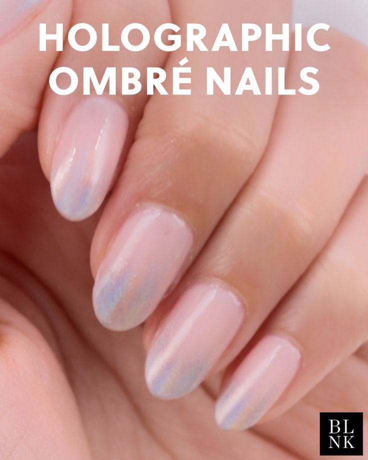 Holographic Ombre Nail Art Tutorial