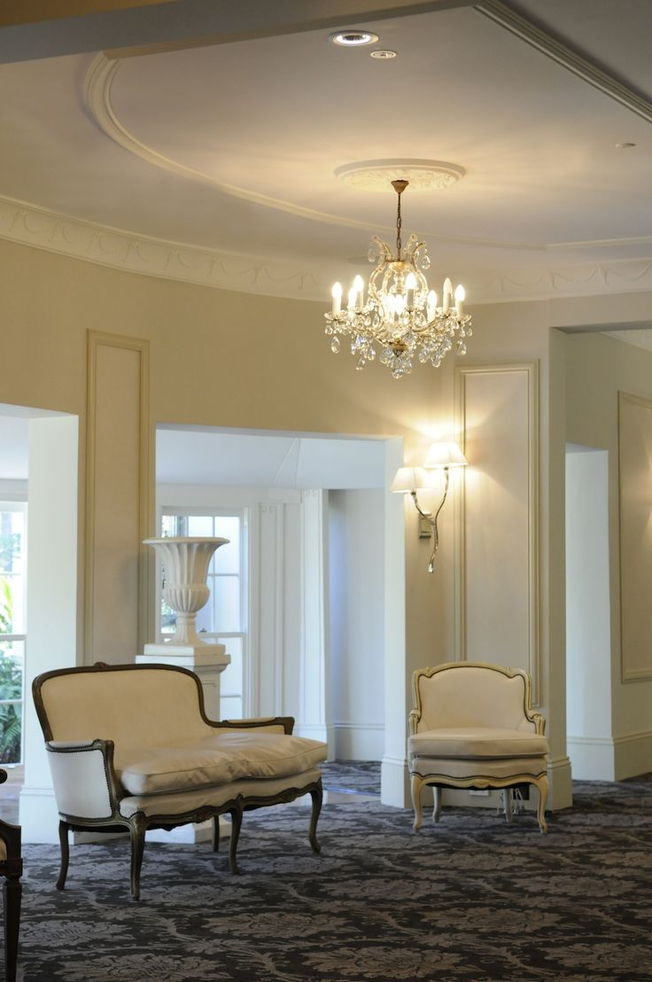At the elegant Oatlands House, inspired by French Provincial.