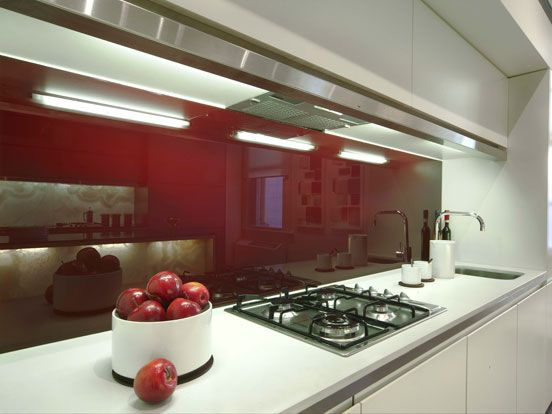 Stegbar Products - Splashbacks this color with matching pendant wiring
