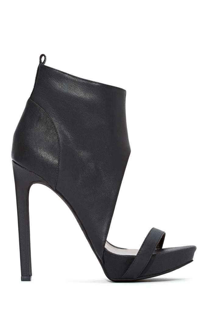 Jeffrey Campbell Sine Leather Bootie