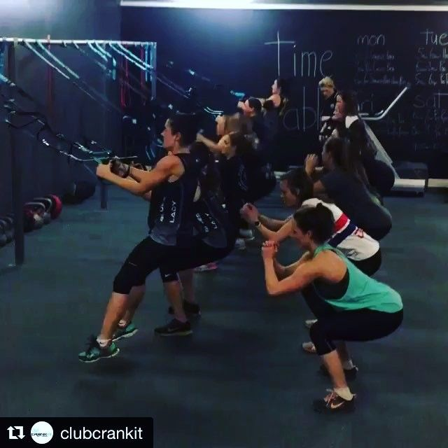 Awesome! Way to go! 👍🏻💪🏻💯#Repost @clubcrankit with @repostapp ・・・ Awesome group squat challenge with the team @fitness_pod Want more great challenges? Join the Club - link in the Bio. Burpee Challenge, Knee Tuck and much much more.  #clubcrankIt #CrankItfitness