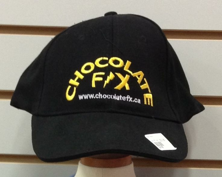 Chocolate F/X Baseball Cap - $12.95 - Chocolate F/X Logo Cap, high quality cotton with sturdy visor