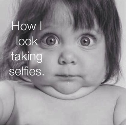 Fun Friday: How I look taking selfless. This is the truth. Hope you have some fun this weekend! For more Friday fun go to https://www.liftcaregiving.com/articles/single/fun-friday-gallery/