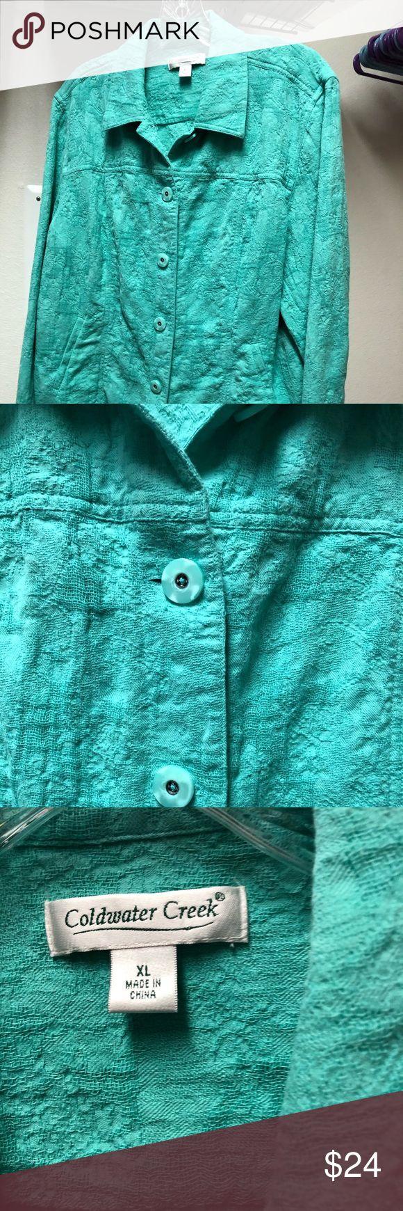 Coldwater Creek Jacket Schöne mintgrüne Jacke. Kann mit einem Rock oder …