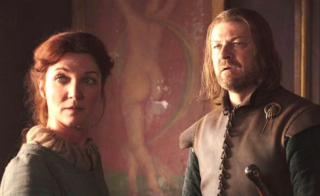 "Okay, so we know that the most popular Game of Thrones fan theory is official, because, unlike Siri, HBO said so.  Why did he continue to spread the lie that Jon is his ""illegitimate bastard son"" with a servant girl named Wylla?  Seems like it would have prevented a lot of heartbreak — Catelyn never"