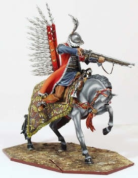 Winged Marksmen of Polish Hussar Regiment, hand made model