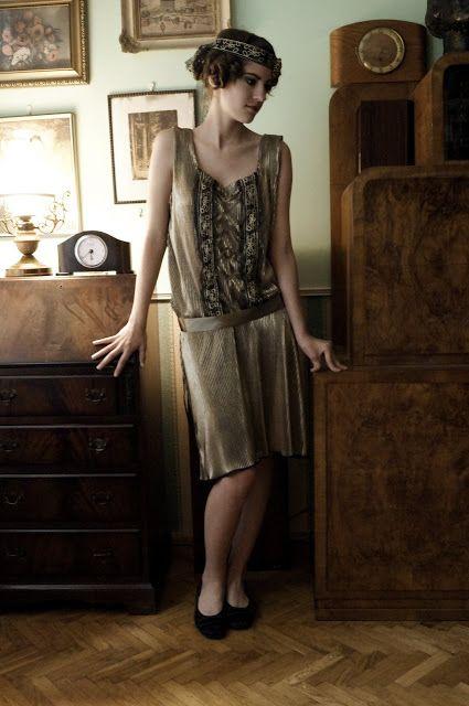 """.:Domowa kostiumologia:.: przerywnik - szyjemy """"na gatsby'ego"""""""