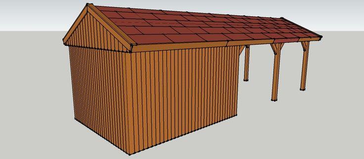 ber ideen zu ger teschuppen holz auf pinterest l rchenholz ger teschuppen und. Black Bedroom Furniture Sets. Home Design Ideas