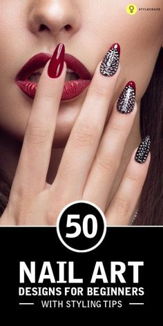Are you tired of single-toned nails and the same old and boring patterns? Looking for some nail art inspiration? Then nail art for beginners is what you should be looking for. Get ready for some manicure magic with these hot and amazing nail art designs.