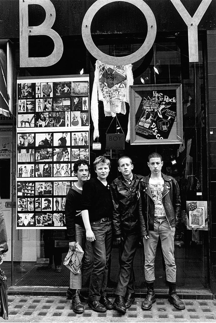 punk exhibition by iconic music photographer janette beckman opens tonight…