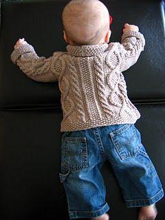Güzel Erkek Bebek Hırkası Bebek örgüleri    Örgü       Bebek örgüleri     Modelleri