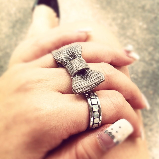 Little bow ring @Jessica Ashford: Cute Bows, Crafts Ideas, Dreams Closet, Diy Fashion, Bows Rings, Earthy Whimsical, Bow Rings, Favorite, Diy Projects