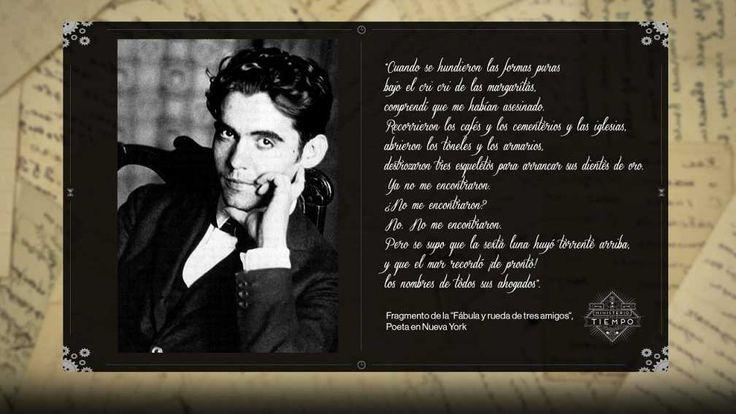 El poema premonitorio de Federico García Lorca