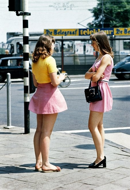 Streetstyle Amsterdam, photo Ed van der Elsken, 1970s - I want to be them!