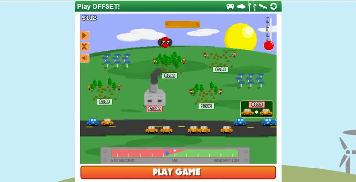 Carbon Offset Game – Ecological Games for Kids