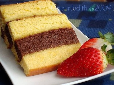 This is one of Indonesian cake. The name is LAPIS SURABAYA. Made from wheat flour, eggs and many more. Lapis Surabaya has a sweet and savory flavor for using butter as an adhesive layer between the yellow and chocolate cake.