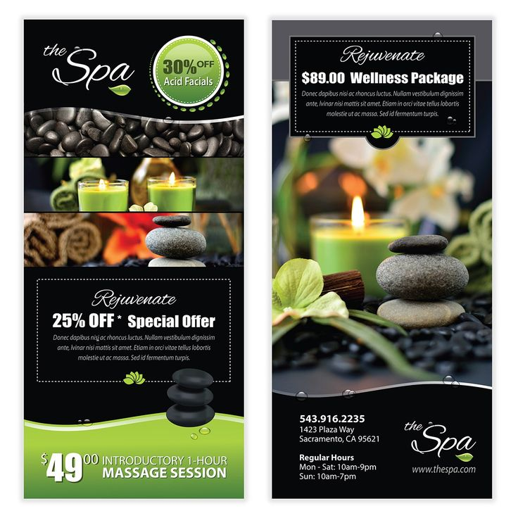 Spa Flyer Template 09