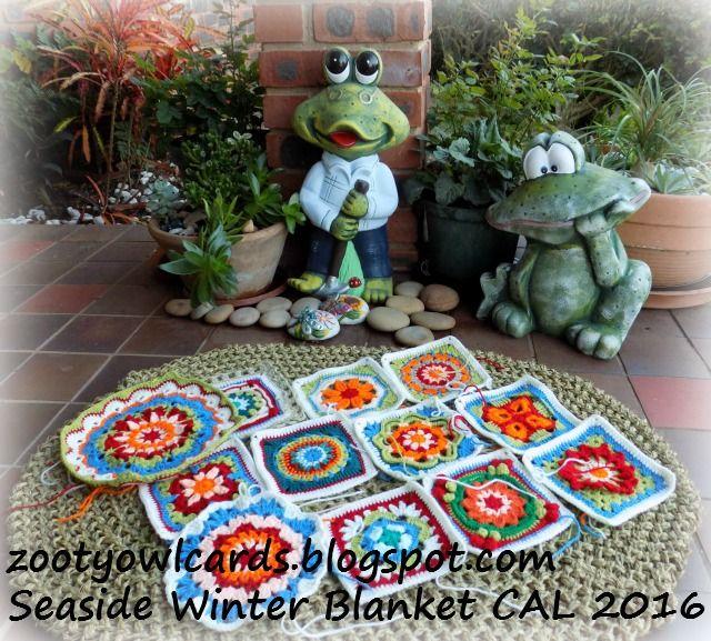 Seaside Winter Blanket CAL ( crochet along) Introduction  - Free Crochet Pattern
