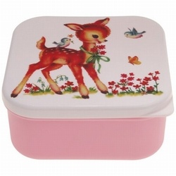 Lunchbox Hertje Roze