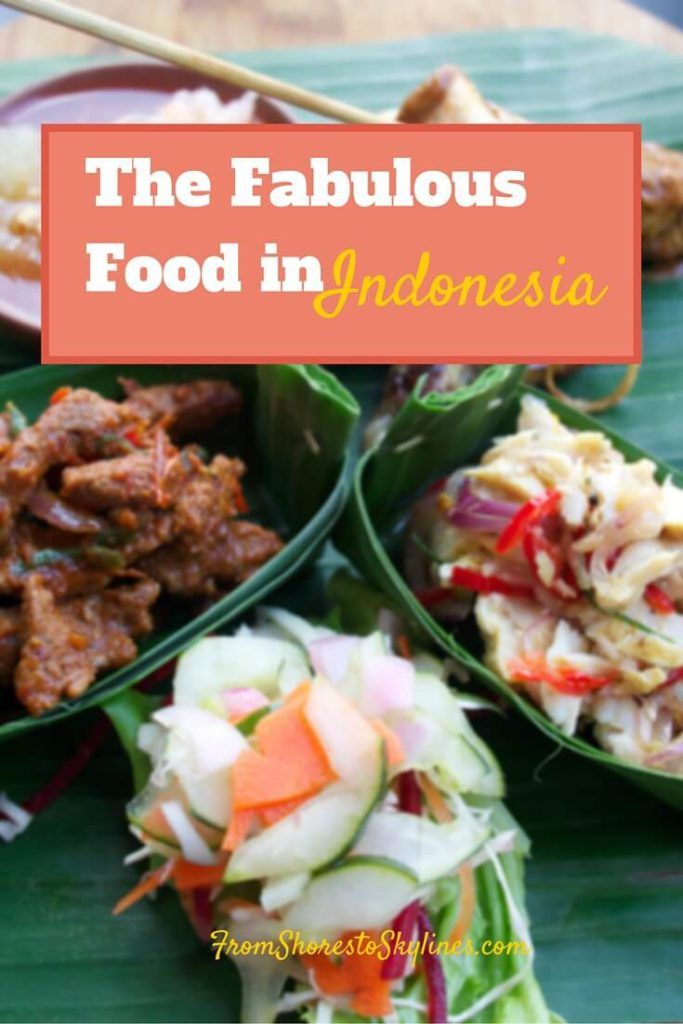 Indonesian Food – yes, please!