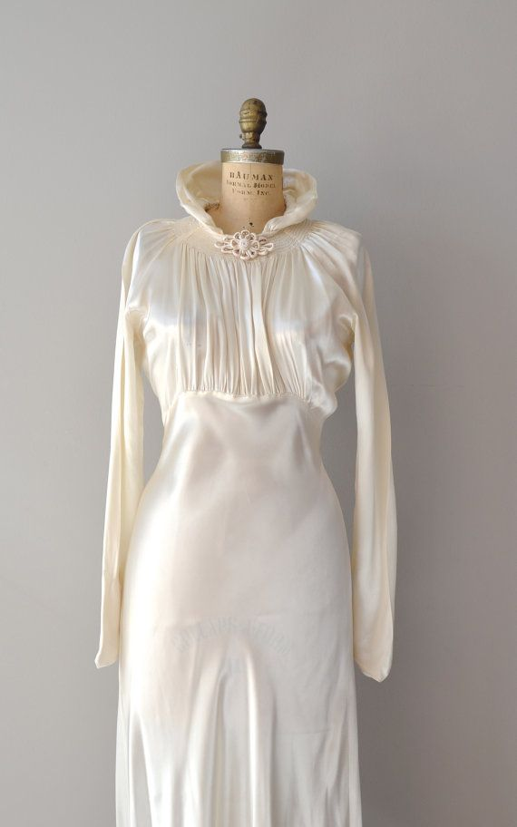 1930s wedding dress los 30 39 pinterest for 30s style wedding dress