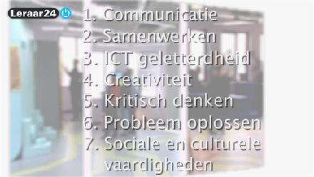 21st century skills - Kennisnet kwam na onderzoek tot 7 skills die belangrijk zullen zijn in de 21ste eeuw