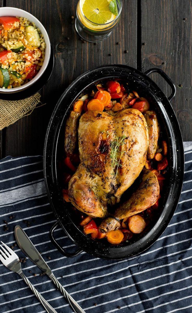 Idealny pieczony kurczak   Cookuj.pl   Twoja internetowa książka kucharska!