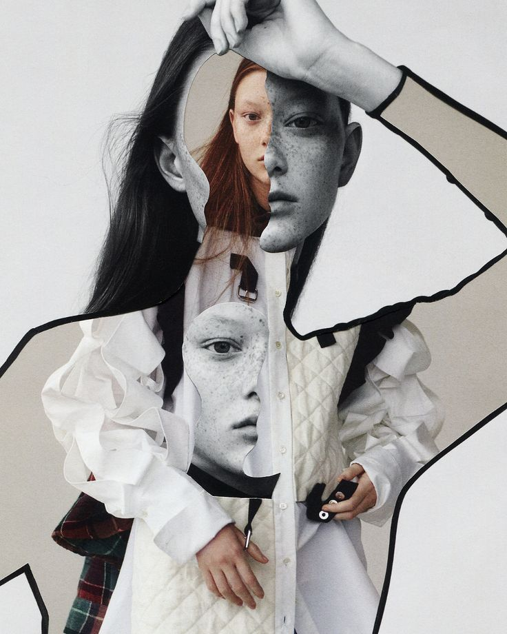 Enjoy the beautiful editorial collages made with fashion shots by the Madrid based photographer Pablo Thecuadro. Source by collage Collage Kunst, Mode Collage, Collage Making, Collage Art, Photography Collage, Creative Photography, Portrait Photography, Fashion Photography, Fashion Illustration Collage