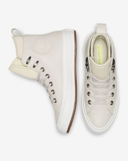 b183ebae788793 Converse Chuck Taylor All Star Waterproof Leather High Top Boot Women s  Leather Boot