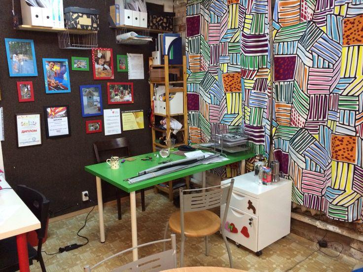 Рабочее место в офисе на Китай городе в Москве