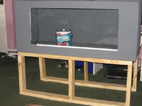 Plywood aquarium plans woodworking projects plans for Plywood fish tank
