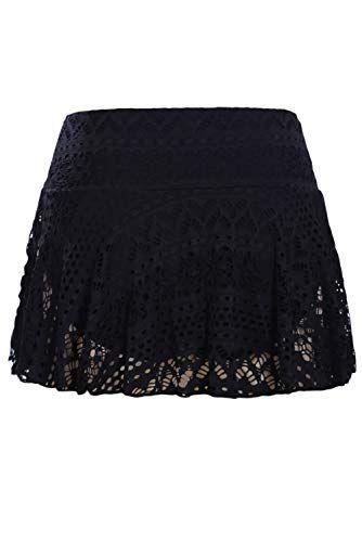 05a097e18a REKITA Womens Swim Skirt Lace Crochet Skort Bikini Bottom,#Swim, #Skirt,  #REKITA, #Womens
