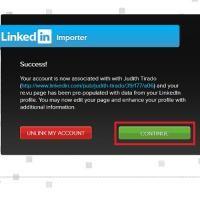 Paso 3 de 9 - Escribe, en la nueva ventana emergente, tu dirección de correo electrónico y tu contraseña de LinkedIn para, seguidamente, hac...