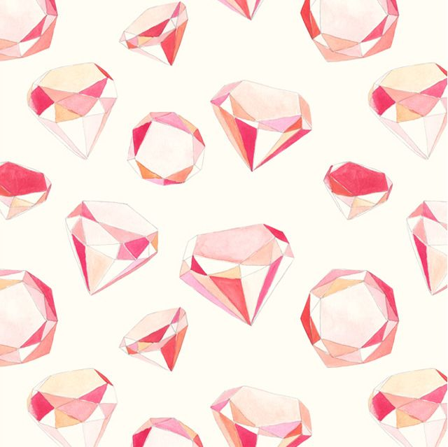 Diamond Illustration by Amy Borrell