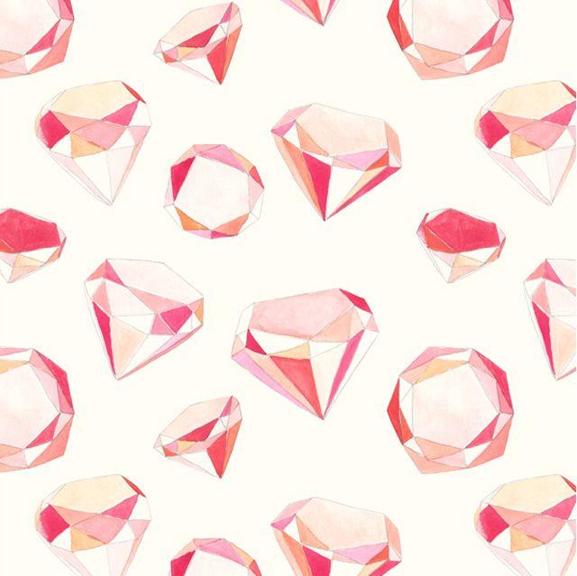 ピンクのダイヤに囲まれたい!amy borrell